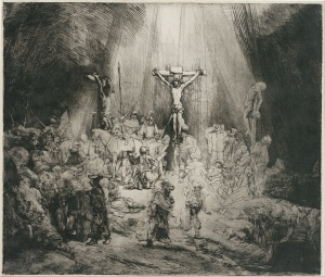 Rembrandt_Harmensz._van_Rijn_-_Christ_Crucified_Between_the_Two_Thieves_(-The_Three_Crosses-)_-_Google_Art_Project