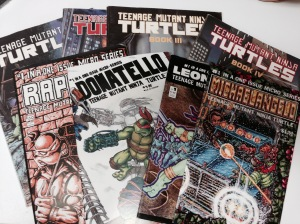 Part of my TMNT comic collection.