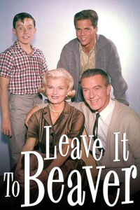 Leave It to Beaver: Jerry Mathers, Tony Dow, Hugh Beaumont and Barbara Billingsley (clockwise, from top left).  Credit: ABC  Image Source: TV Land  © 2008 MTV Networks Entertainment Group, Viacom International Inc.  All Rights Reserved.
