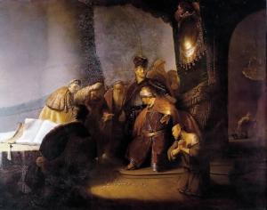 Judas, repentent