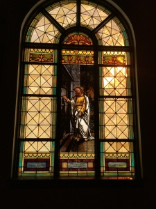 Stained Glass Knocking