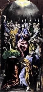 Pentecost El Greco 1596