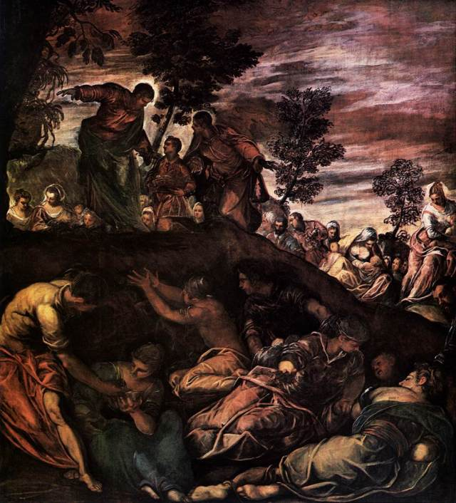 the-miracle-of-the-loaves-and-fishes-1581 tintoretto