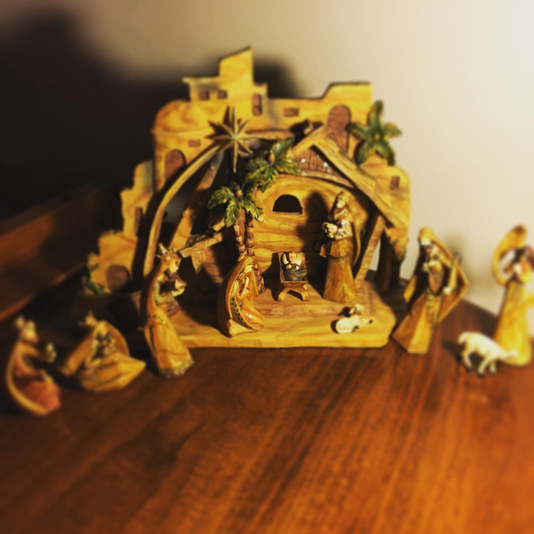 Manger Scene Jesus